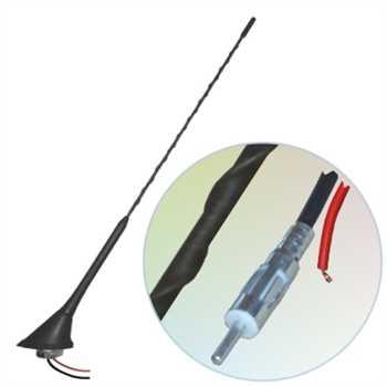Universal Dachantenne 16V AM/FM, Power,Kabel