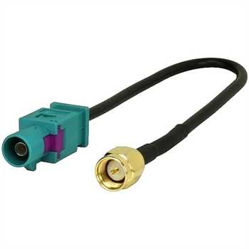 Antennenadapter Fakra (M) > SMA (M) f. GSM/GPS UNI