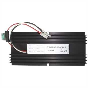 Spannungswandler / Inverter 24V auf 12 Volt, 30A