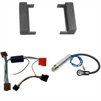 Radioblende Set AUDI A2, A3, A4, TT