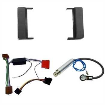 Radioblende Set AUDI A4, A6