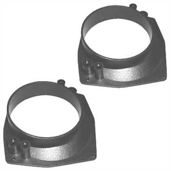 Lautsprecheradapter FIAT Punto, 130mm