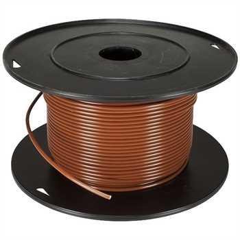 FLRY - Remotekabel 1,5 qmm, braun 100m Rolle 100%