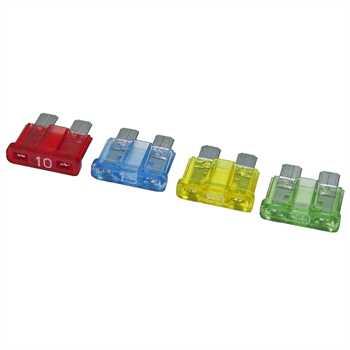 DIN-Flachsteck-Sicherungs-Set 40er Pack je 10x 10,