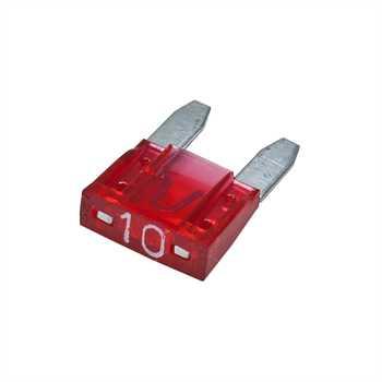 DIN-Mini-Flachsteck-Sicherung 10A 10er Pack