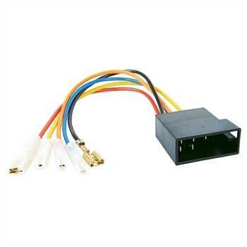 Umrüstadapter DIN Radio auf Fahrzeug ISO (Spannung