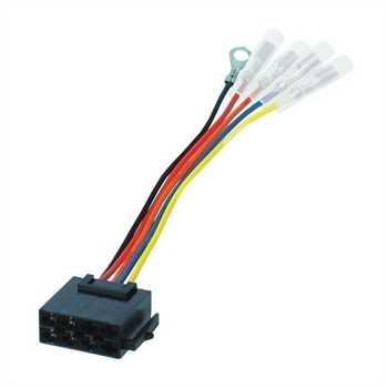 Umrüstadapter ISO Radio auf Fahrzeug ASIA (Spannun