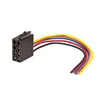 Adapter ISO (f) Radio auf Fahrzeug Strom