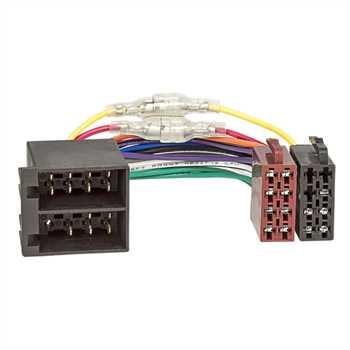 ISO-Radio auf ISO-Fahrzeug Klemme15/30 drehbar