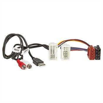 Radio-Adapterkabel HYUNDAI KIA, AUX+USB