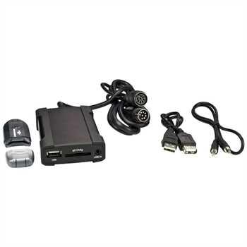 USB/SD/Aux Interface Hyundai / Kia 8-Pol Wechslera