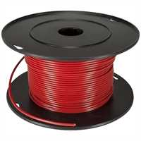 FLRY - Remotekabel 1,5 qmm, rot 100m Rolle 100% OF