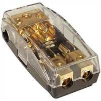 Sicherungsblock/Verteiler AGU E: 3x25 / A: 2x10 /